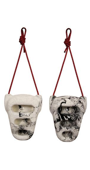 Metolius Rock Rings 3D - Tablas de entrenamiento - blanco/negro